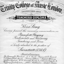 Image of 11 cert: Teaching Diploma 1939