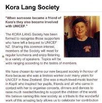 Image of Kora Lang Society Unicef tribute 1.16