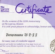 Image of 2006.1.14 - Certificate, Achievement