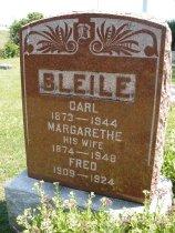 Image of Bleile, Margarethe - Sowadzki