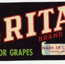 Image of 2008/051/175 - James E. Henley Fruit and Vegetable Can and Crate Label Collection