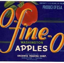 Image of 2008/051/336 - James E. Henley Fruit and Vegetable Can and Crate Label Collection