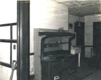 Image of Compton Kitchen before Demolition   1968 - 1968.1.15