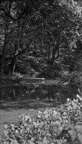 Image of Skiff on Creek ca 1910 - 1985.1.14N