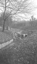 Image of Stream near Stone Bridge  circa 1910 - 1985.1.6N