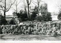 Image of Compton Mansion from Rose Garden  1937 - 1987.1.1