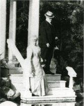Image of John and Lydia at Love Temple  circa 1908 - 2004.1.126
