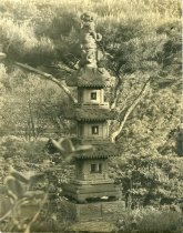 Image of Pagoda with Sanskrit & Japanese Inscriptions ca 1910 - 2004.1.222