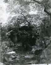 Image of Japanese Rock Garden with Pond  ca 1913 - 2004.1.225