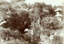 Image of Japanese Stork Statues  circa 1909 - 2004.1.253