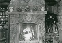 Image of Tea Time in the Log Cabin  about 1909 - 2004.1.350