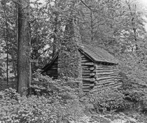 Image of Log Cabin Before Renovation - 2004.1.355