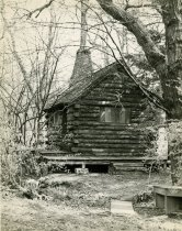 Image of Log Cabin Before Renovation - 2004.1.359