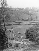 Image of View of Rose Garden From Lydia's Seat   after 1924 - 2004.1.444