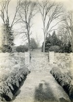 Image of Upper Stairs at Formal Rose Garden