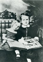 Image of John and Lydia as Children  1854 - 2004.1.491
