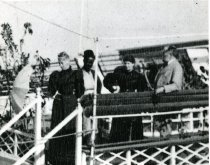 Image of John and Lydia Aboard the Llahn  1889 - 2004.1.505