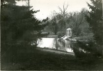 Image of Love Temple and Swan Pond  Winter 1934 - 2004.1.58