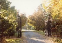 Image of Meadowbrook Ave. Gates - 2004.1.644