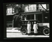 Image of Car, People on Walton Avenue in West Philadelphia  1925 - 2004.1.653