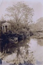 Image of The Greek Temple at Swan Pond 1933 - 2004.1.78