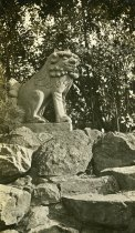 Image of Sando Komainu (Stone Korean Dog) from Nara, Japan - 2004.1.809