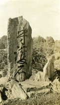 Image of Japanese Stones in Overlook Garden  ca 1917 - 2004.1.812