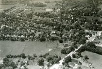 Image of Aerial View of Flourtown West of Bethlehem Pike ca 1960-1970 - 2010.3.1
