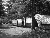 Image of Tents at the Annual Meeting Pa. State Forestry Association  1920 - 2011.6.125