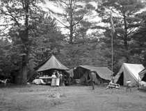 Image of Tent Camp at Annual Meeting Pa. State Forestry Association  1920 - 2011.6.126