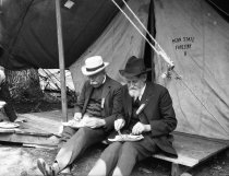 Image of Rothrock Dining Under Tent at the Annual Meeting Pa. Forestry Association  1920 - 2011.6.129