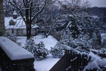 Image of Gates Carriage House in Snow  1956 - 2013.1.164