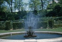 Image of Fountain at Rose Garden 1956 - 2013.1.415