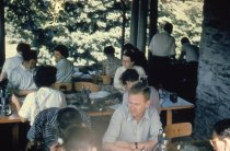 Image of Class in Woody Plants on Gates Porch 1957 - 2013.1.457