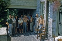 Image of Woody Plant Class at Gates Porch 1958 - 2013.1.462
