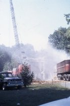 Image of Compton Mansion Demolition with Crane  1968 - 1968.5.9