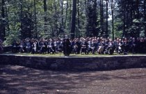 Image of Amphitheatre Dedication at Swarthmore College  1942 - 2013.2.6