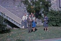 Image of People Behind Gates Hall  1964 - 2013.1.556