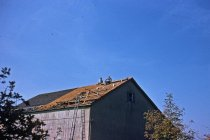 Image of New Roof for Barn at Bloomfield Farm  1955 - 2013.1.569