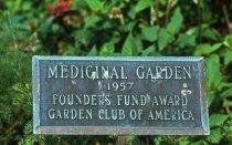 Image of Sign for Medicinal Garden - 2013.1.625