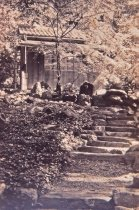 Image of Steps on the side of the Japanese Tea House - 2013.27.91