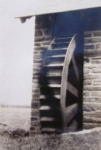 Image of Wooden Waterwheel at Pumphouse - 2014.40.30