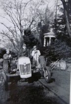 Image of Three Men on the Tractor - 2014.40.38