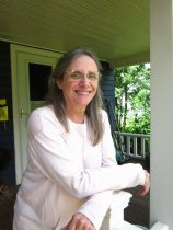 Image of Gretchen Asam on her Porch in Maine  2014 - 2014.40.60
