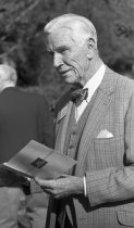 Image of J. Liddon Pennock at the Fernery Dedication 1994 - 2014.42.2.27