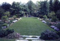 Image of Ambler School of Horticulture for Women - Formal Garden - 2013.2.22