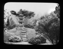 Image of Lantern in the Hill and Water Garden - 2015.35.10