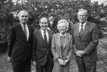 Image of Raven, Klein, Haas at Willaman Dedication  1985 - 2015.37.2.25