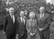 Image of Raven, Klein, Haas at Willaman Dedication  1983  - 2015.37.2.26