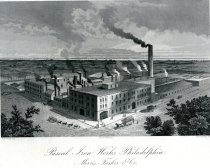 Image of Lithograph Pascal Iron Works - Morris, Tasker & Co. 1856-1896 - 2013.79.1